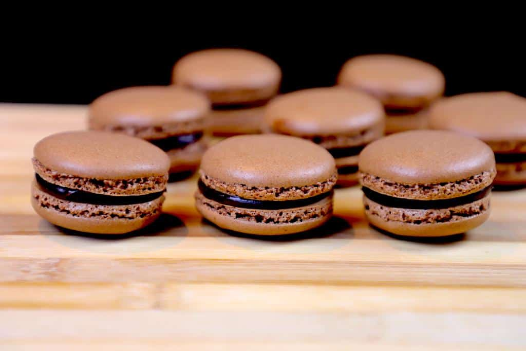 French Macaron Recipe Chocolate Macarons Yum Curry