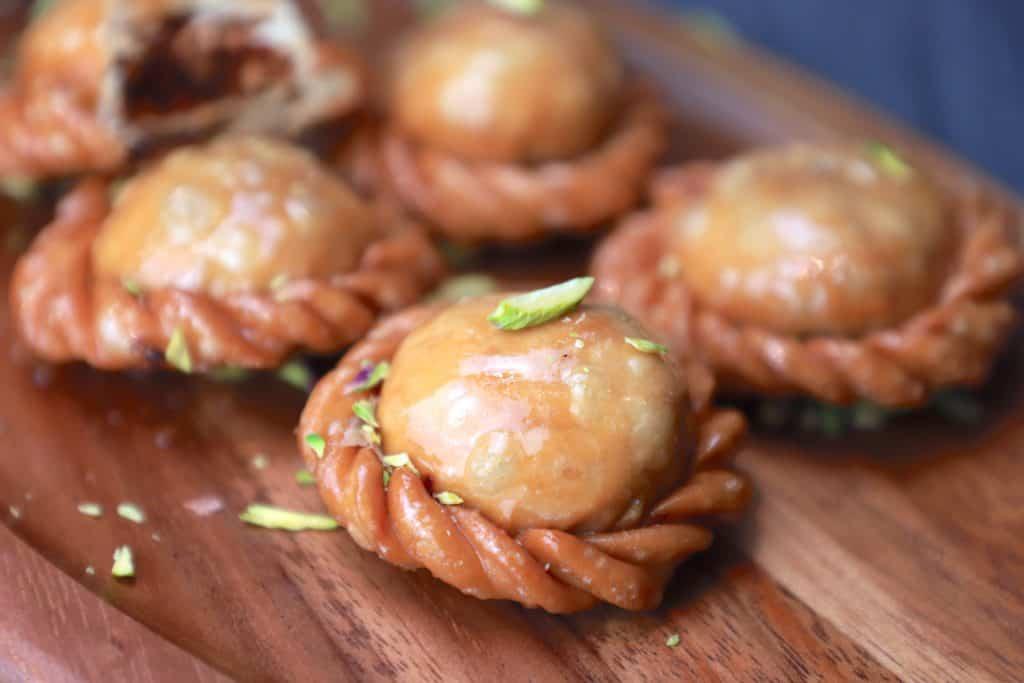 Chandrakala recipe - home made chandrakala
