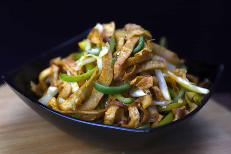 Chapati noodles - How to make chapati noodles
