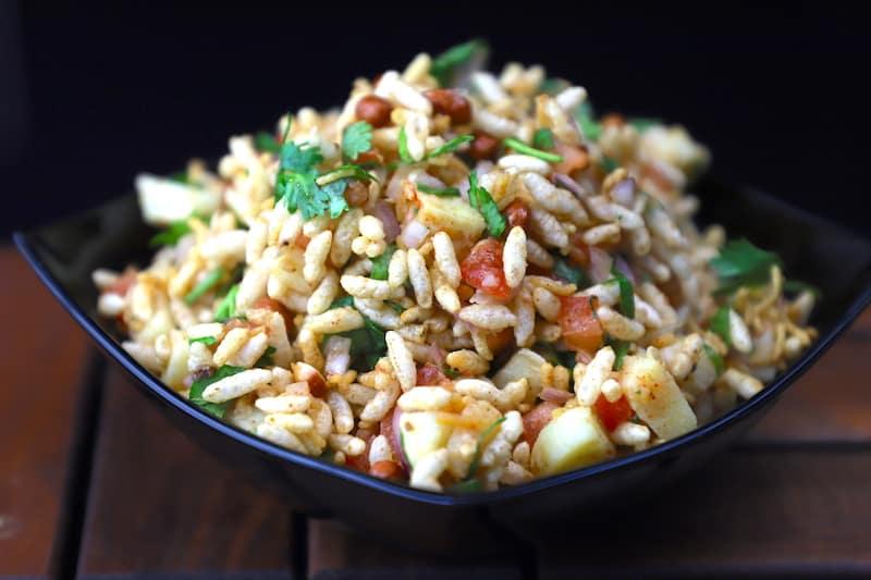 Jhalmuri - Jhal muri recipe - How to make jhal muri - Puffed rice recipe | Bengali street food