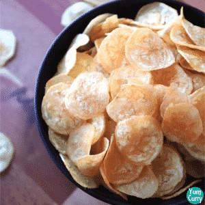 Banana chips recipe - how to make banana chips