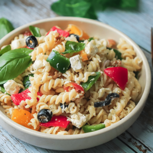 Pasta salad recipe - how to make pasta salad
