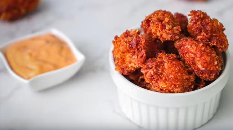 Chicken popcorn recipe- KFC style