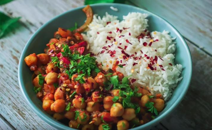 Vegan Chickpea curry- A delicious recipe