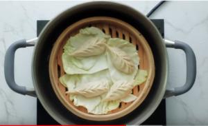 Chilli garlic momos