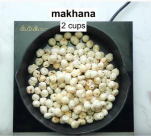 Makhana bhel
