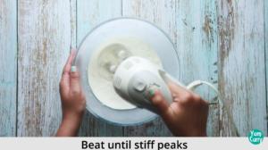 beat whipping cream