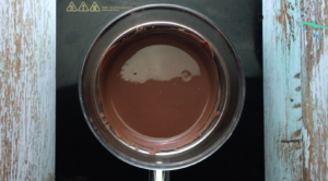 melt the chocolate