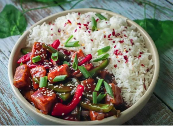 Tofu stir fry - Healthy vegan recipe