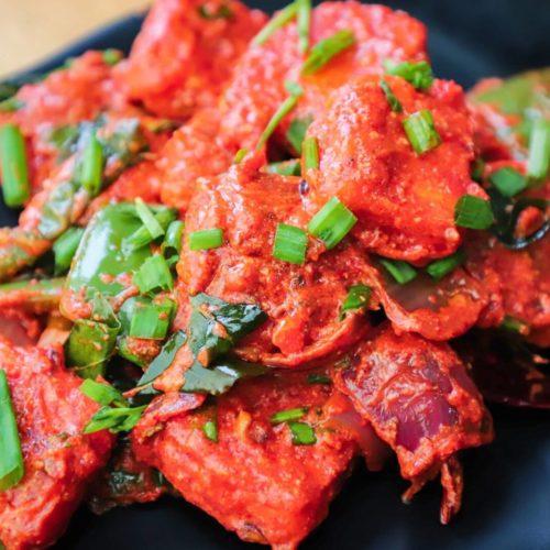 Paneer 65- Restaurant style paneer 65 recipe