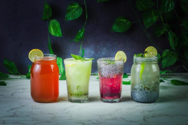summer drinks 4 ways